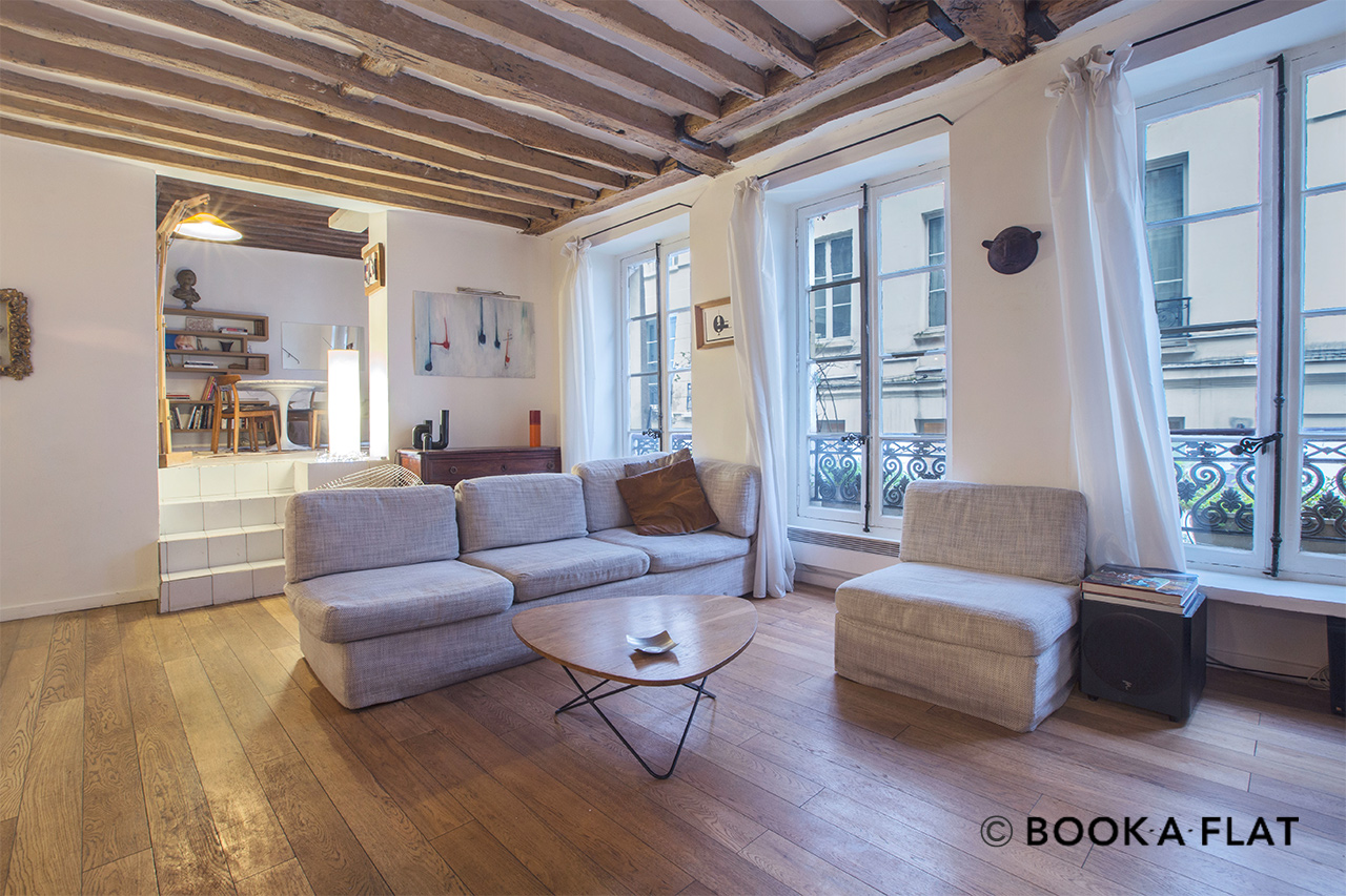 Apartment Paris Rue Tiquetonne 3