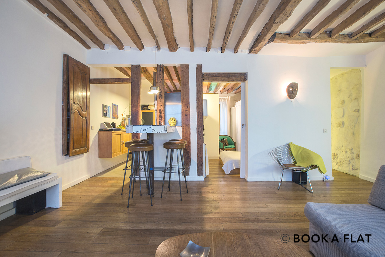 Apartment Paris Rue Tiquetonne 4