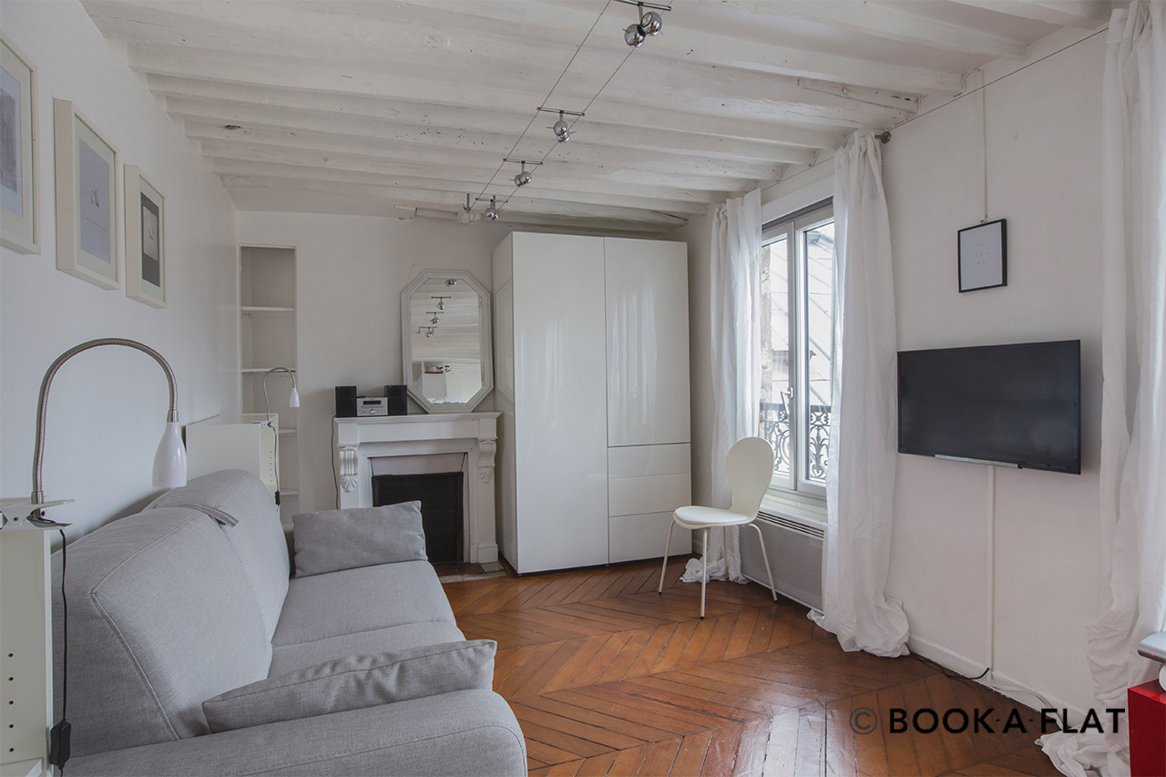 Appartement Paris Rue Rougemont 2