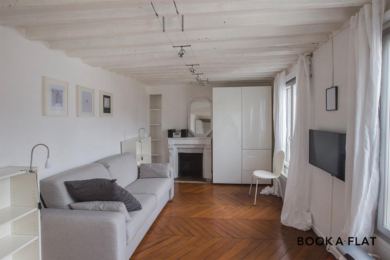 Appartement Paris Rue Rougemont 3