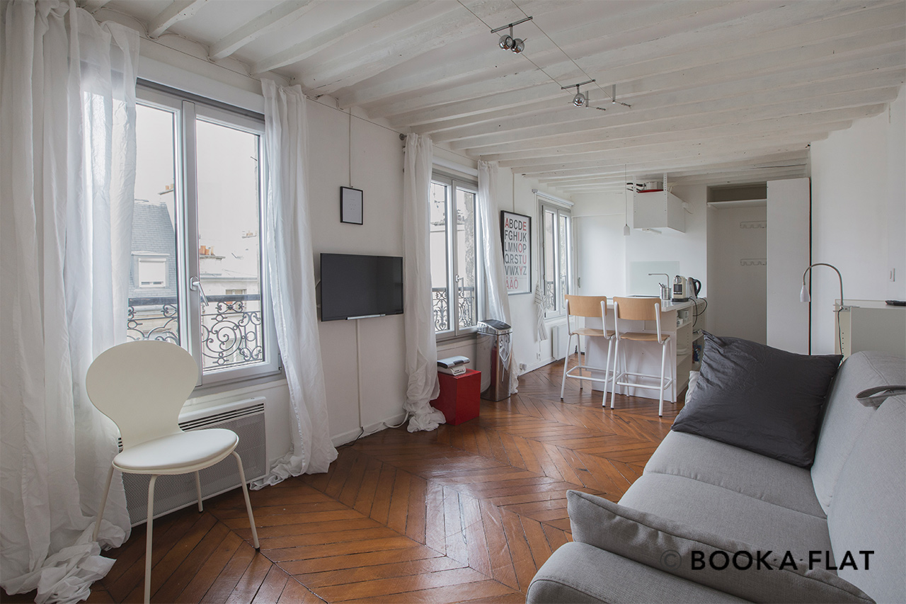 Appartement Paris Rue Rougemont 4
