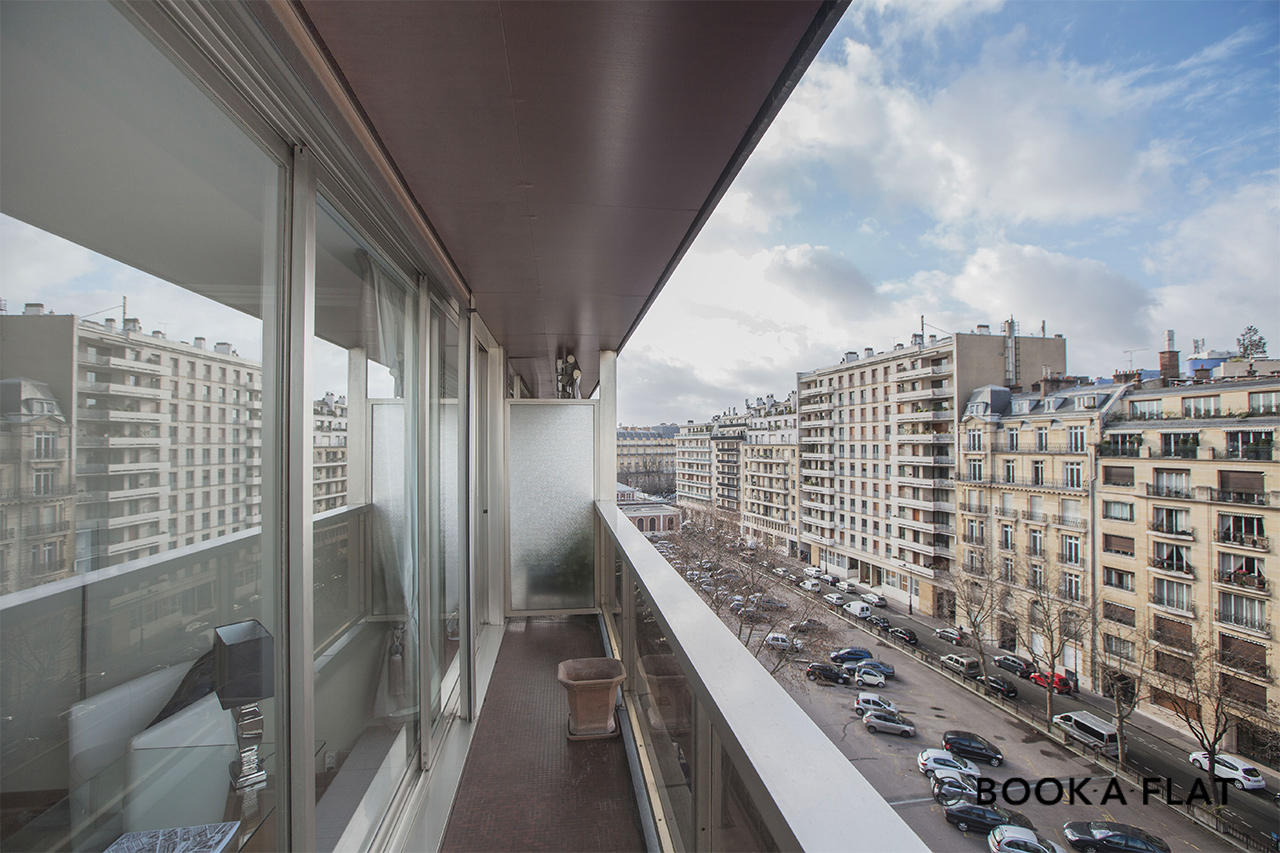 Apartment Paris Boulevard Flandrin 8