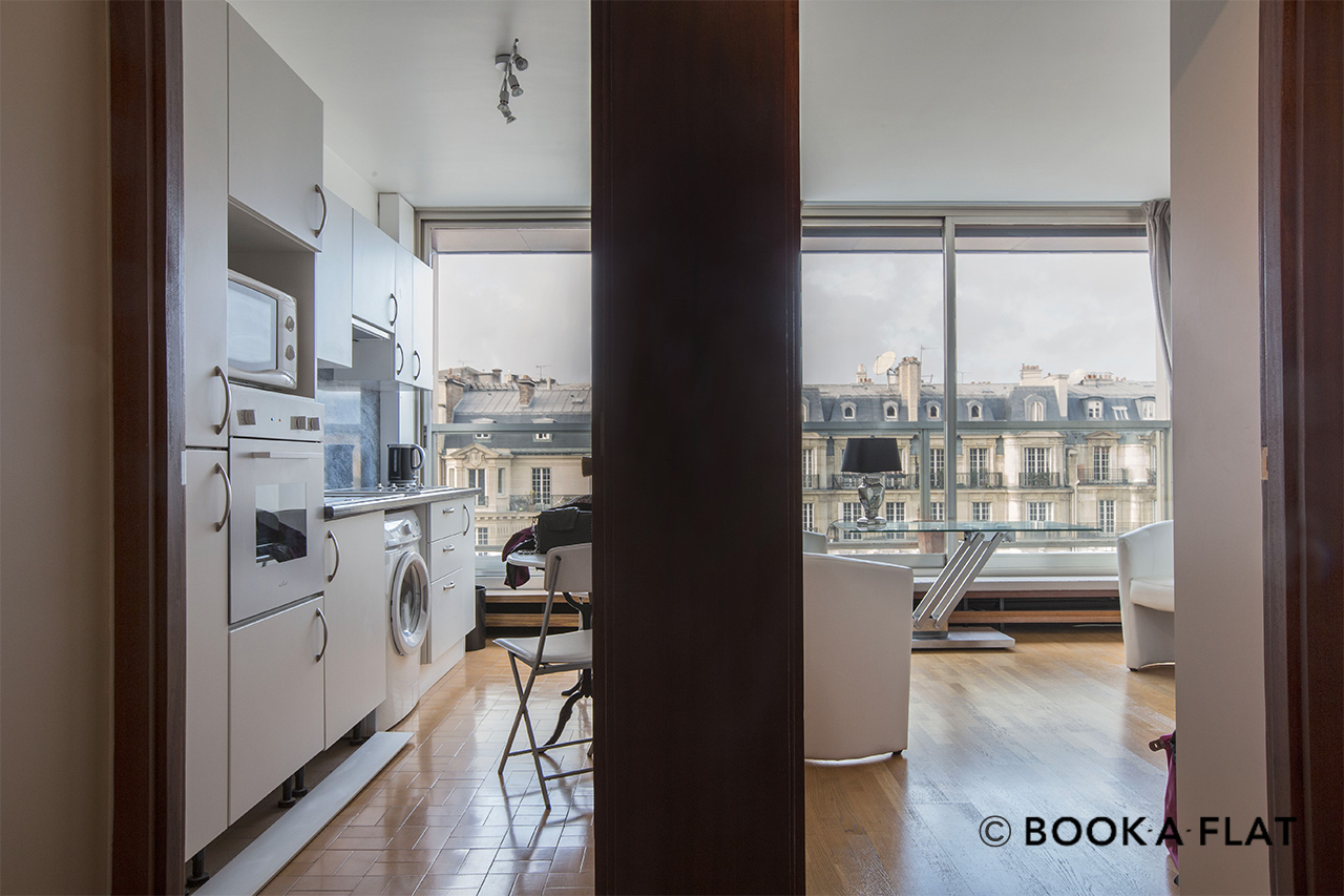 Apartment Paris Boulevard Flandrin 6