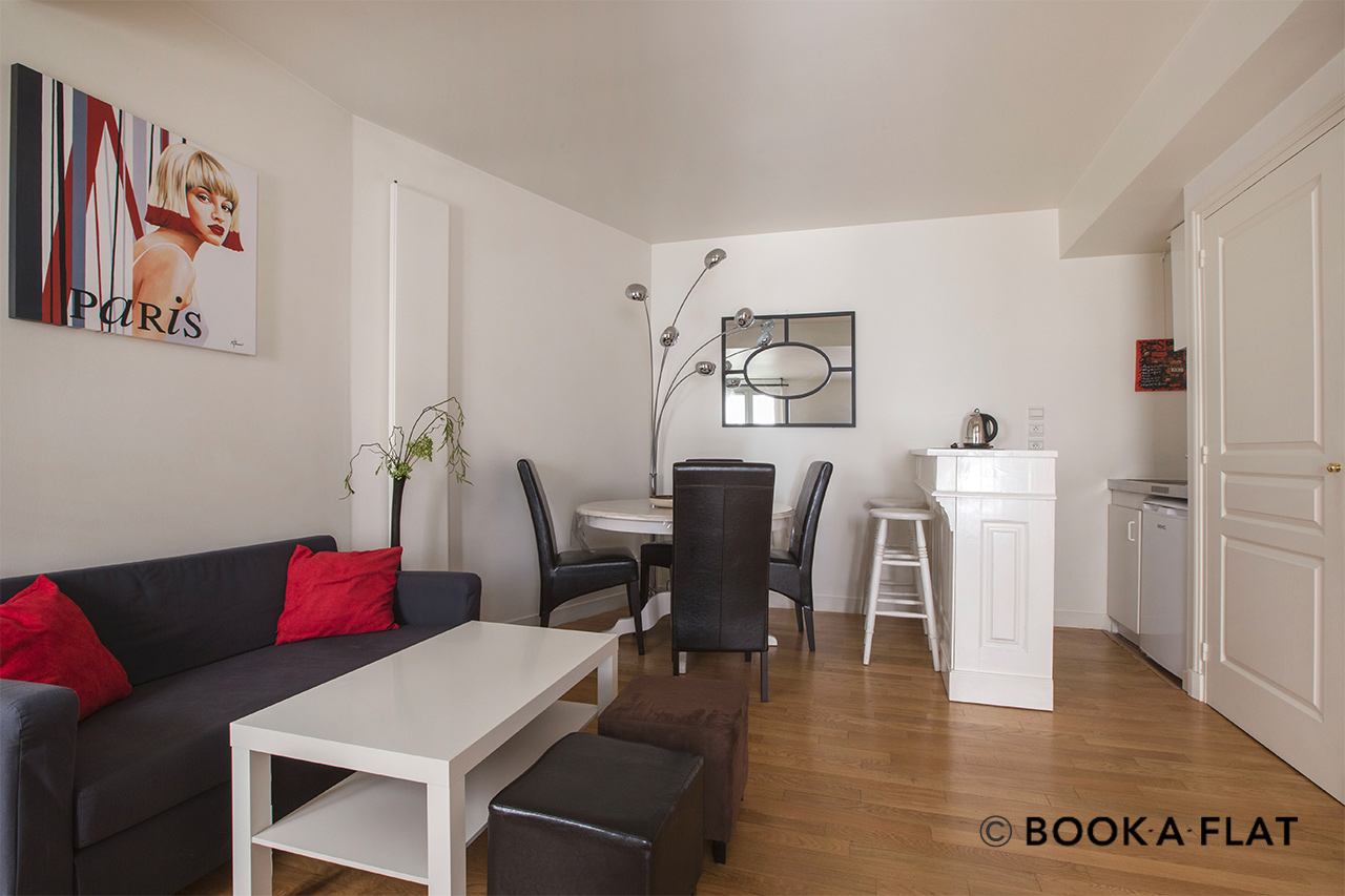 Furnished apartment for rent Paris Boulevard Malesherbes