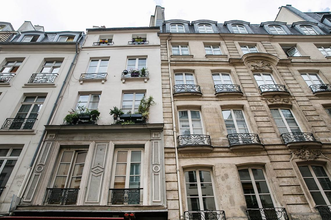 Appartement Paris Rue Montorgueil 17