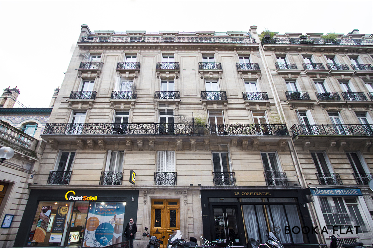 Appartamento Paris Rue Robert Estienne 14