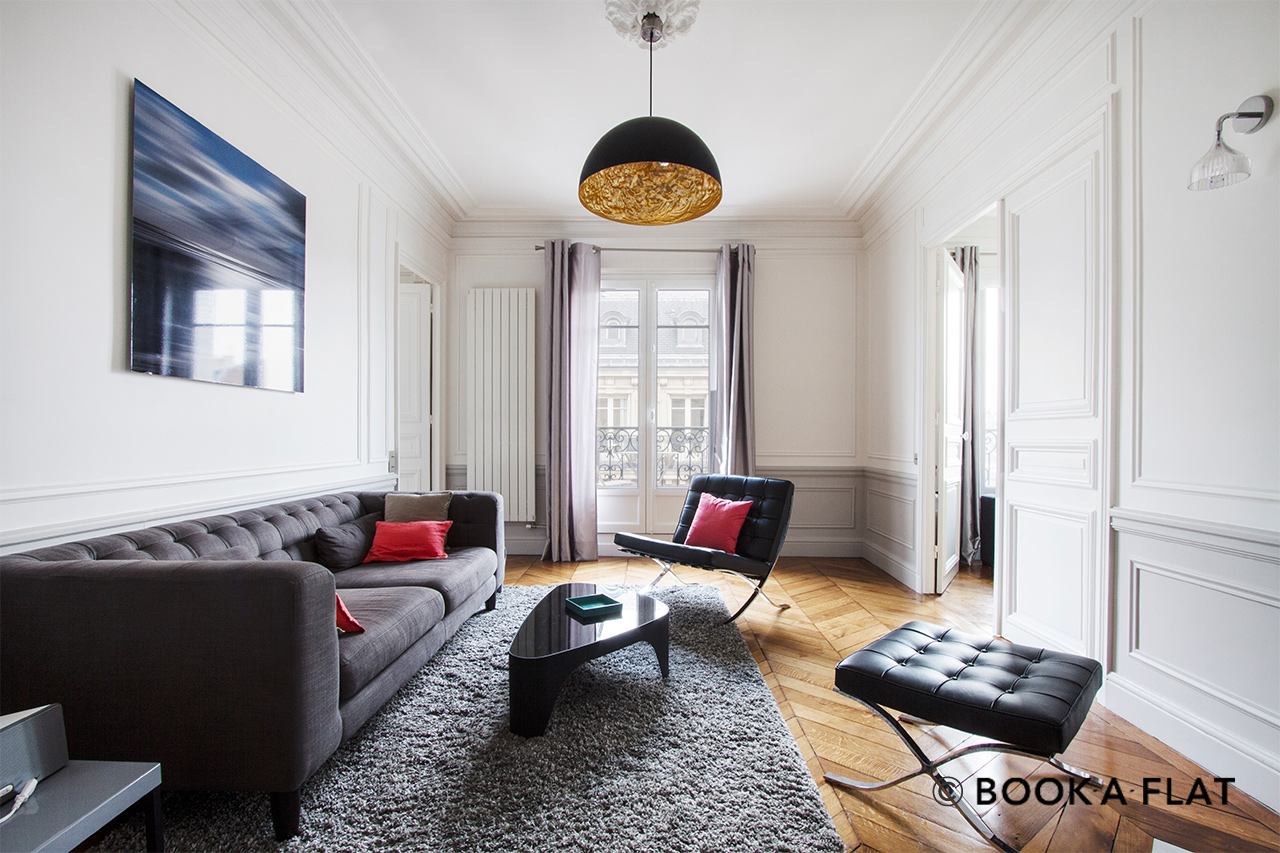 Furnished apartment for rent Paris Rue Robert Estienne