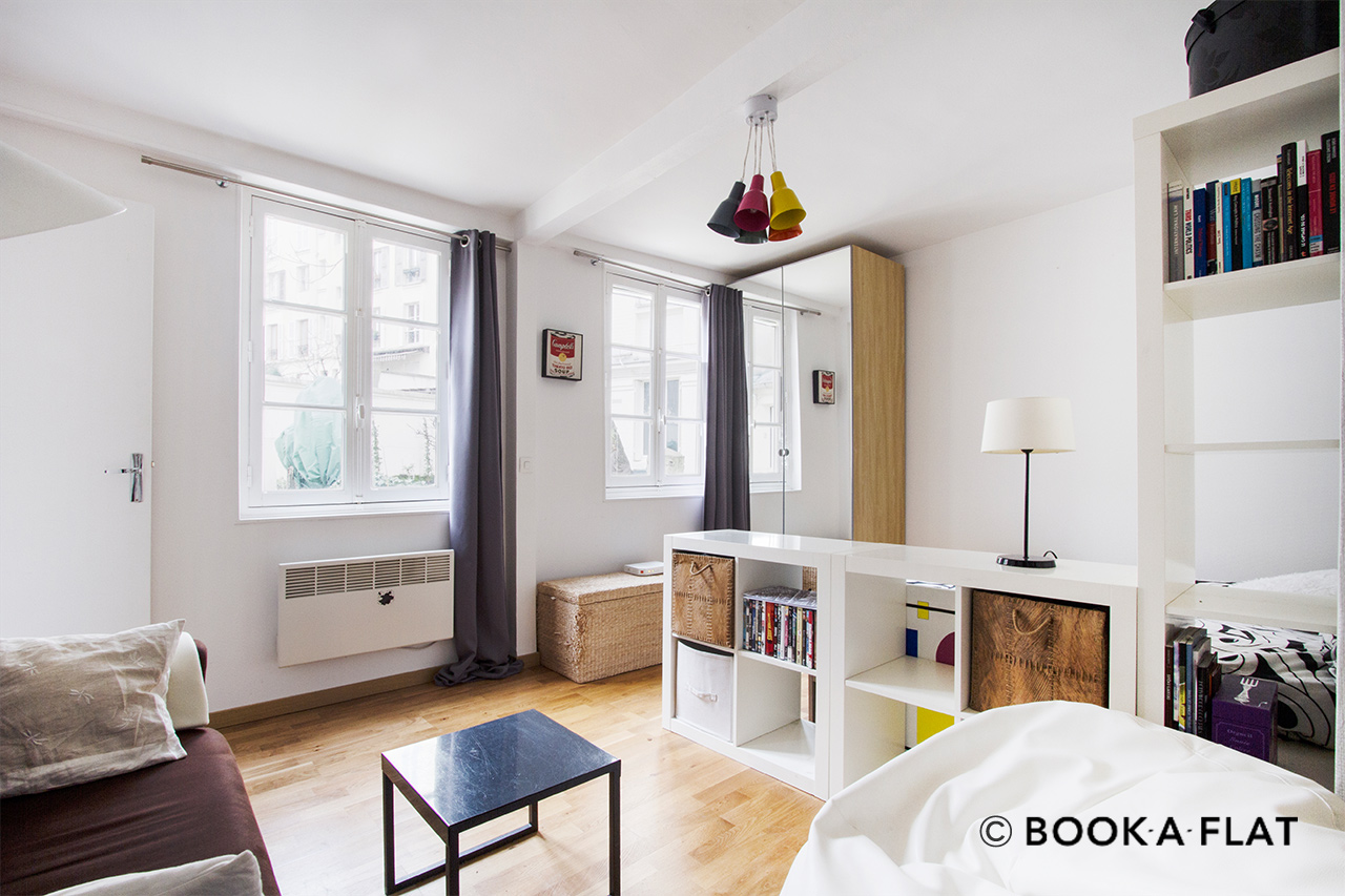 Furnished apartment for rent Paris Rue Muller