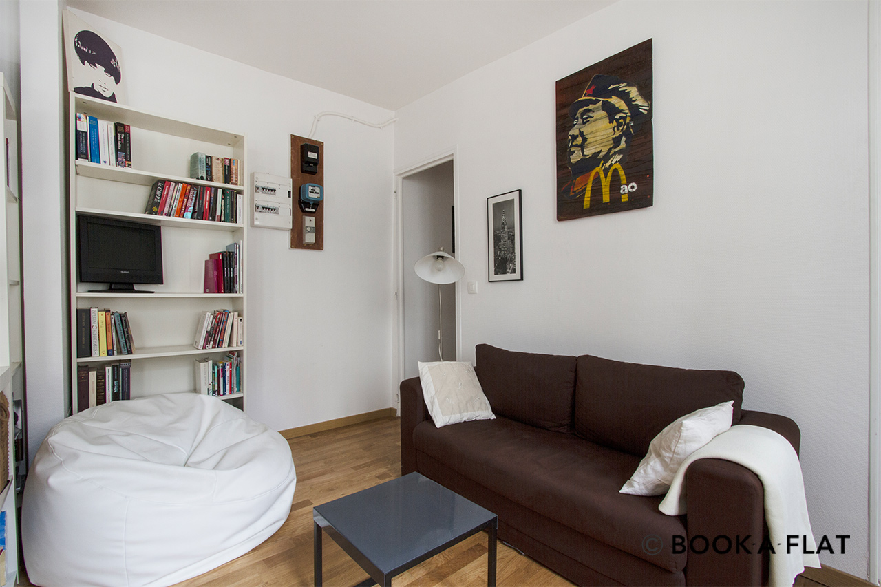 Apartment Paris Rue Muller 2
