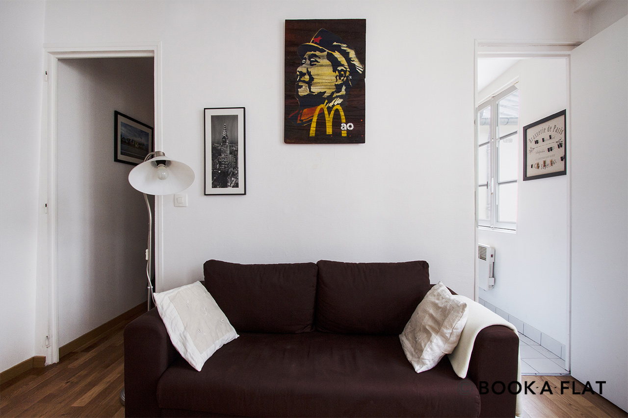 Apartment Paris Rue Muller 3