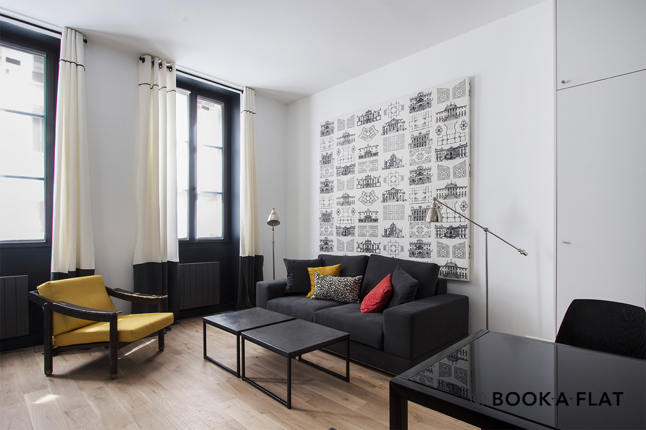 Furnished apartment for rent Paris Rue Henri Barbusse