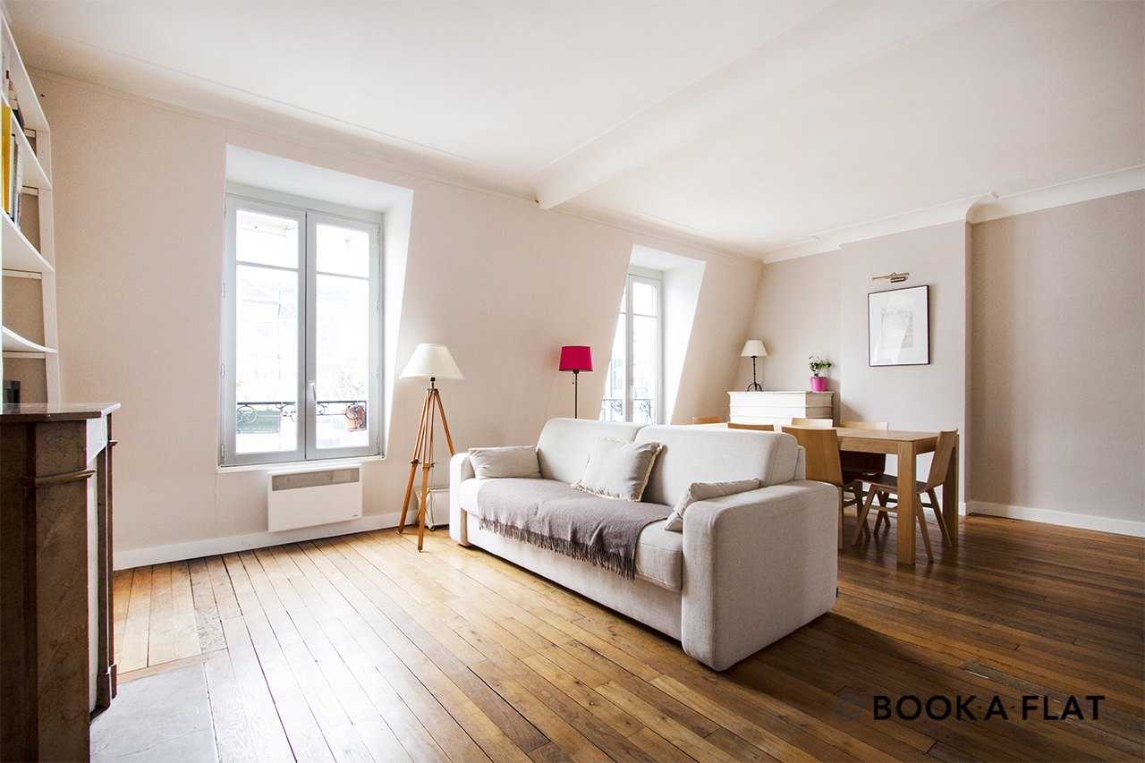 Furnished apartment for rent Paris Rue Jean Daudin