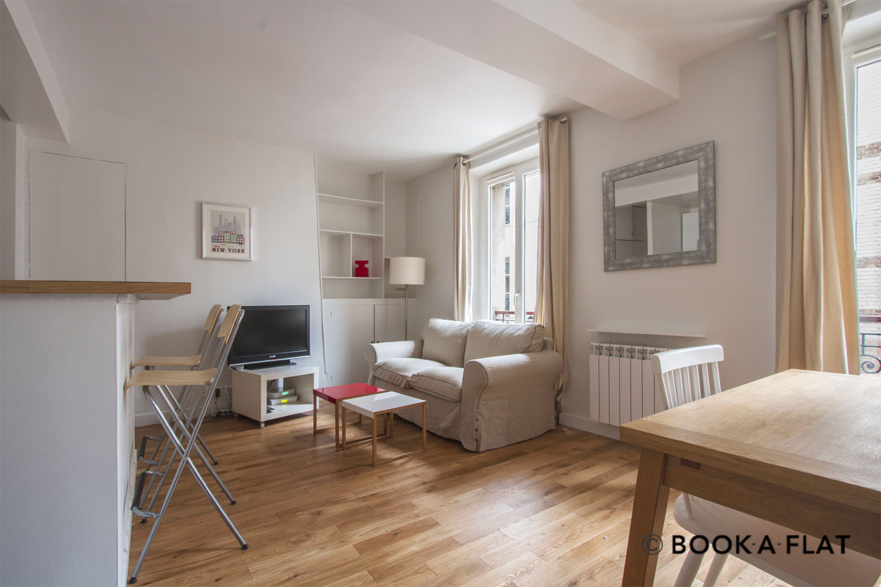 Appartement Paris Rue Belidor 2