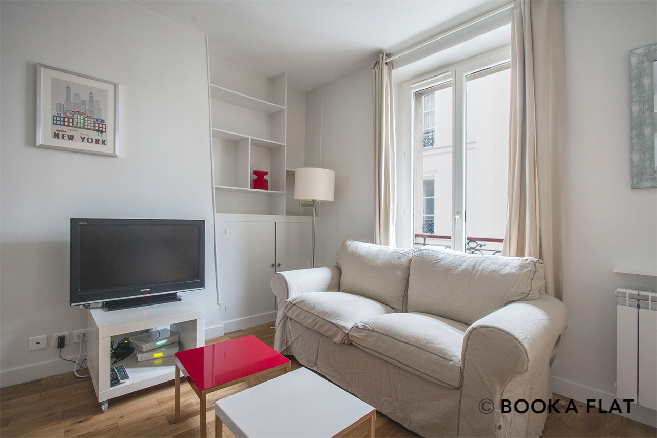 Appartement Paris Rue Belidor 3
