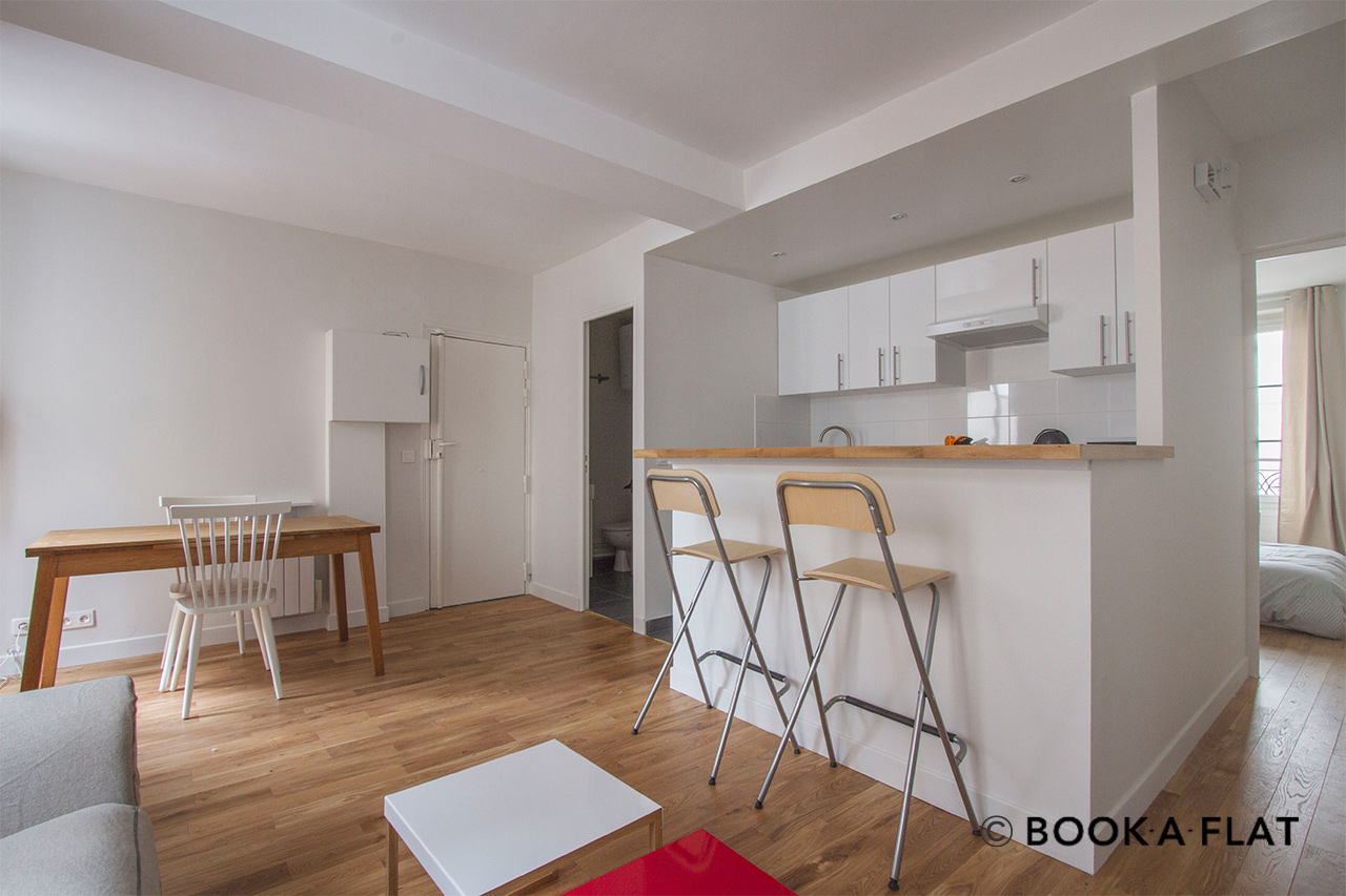 Appartement Paris Rue Belidor 4
