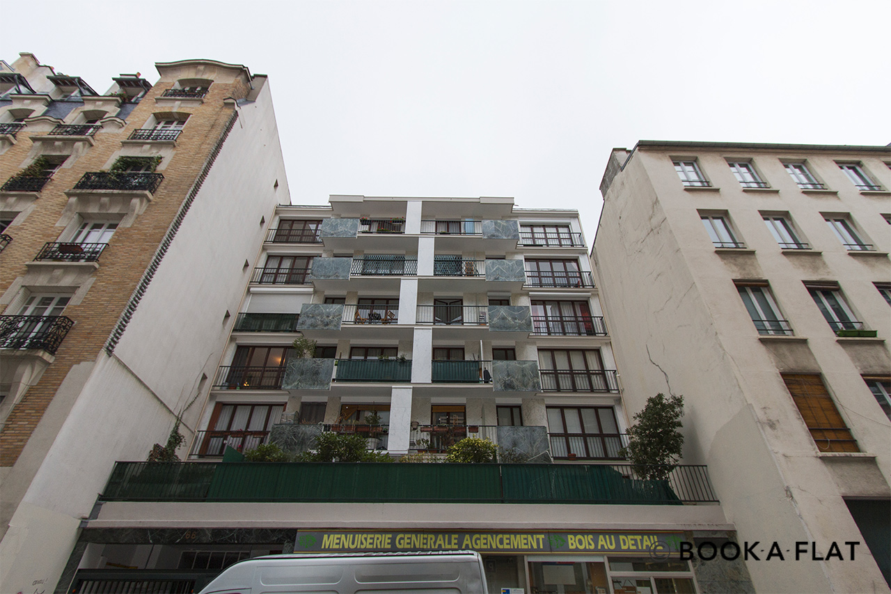Квартира Paris Rue Blomet 12