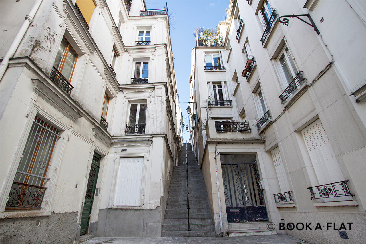 Квартира Paris Passage Cottin 12