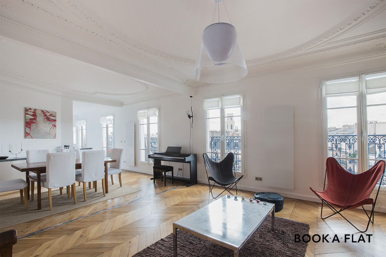 Furnished apartment for rent Paris Place Michel Debré