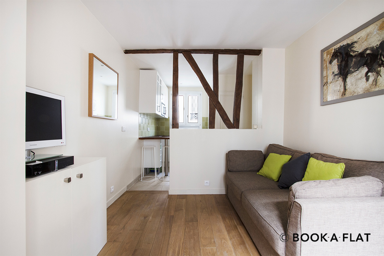 Furnished apartment for rent Paris Rue Berthe