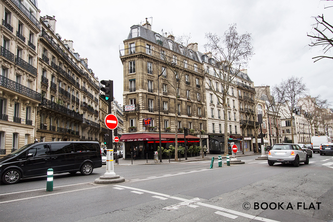 Квартира Paris Avenue de Villiers 12