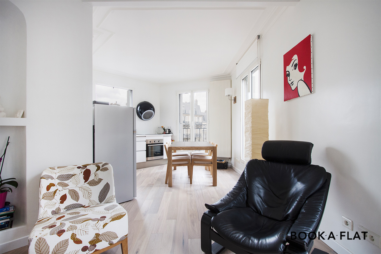 Paris Avenue de Villiers Apartment for rent