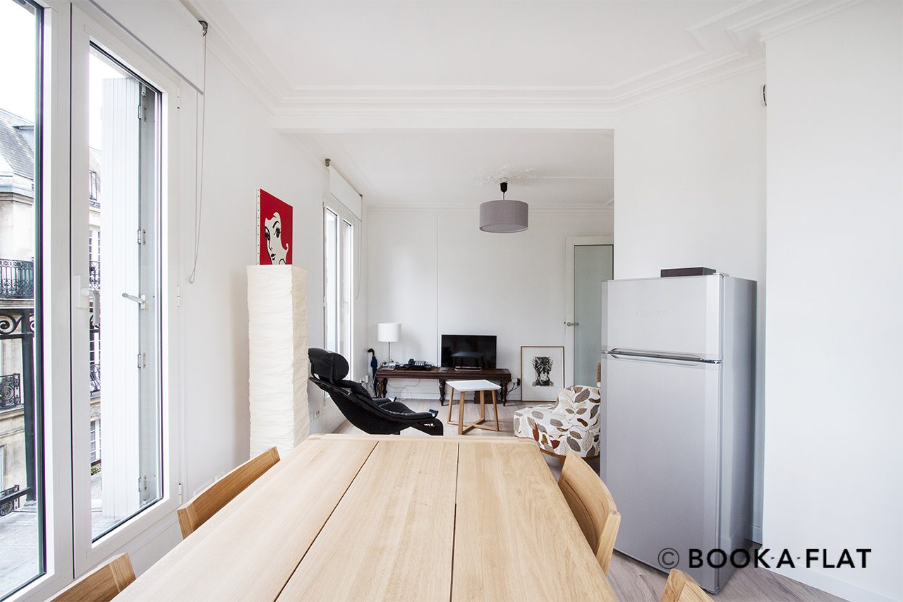 Apartment Paris Avenue de Villiers 3