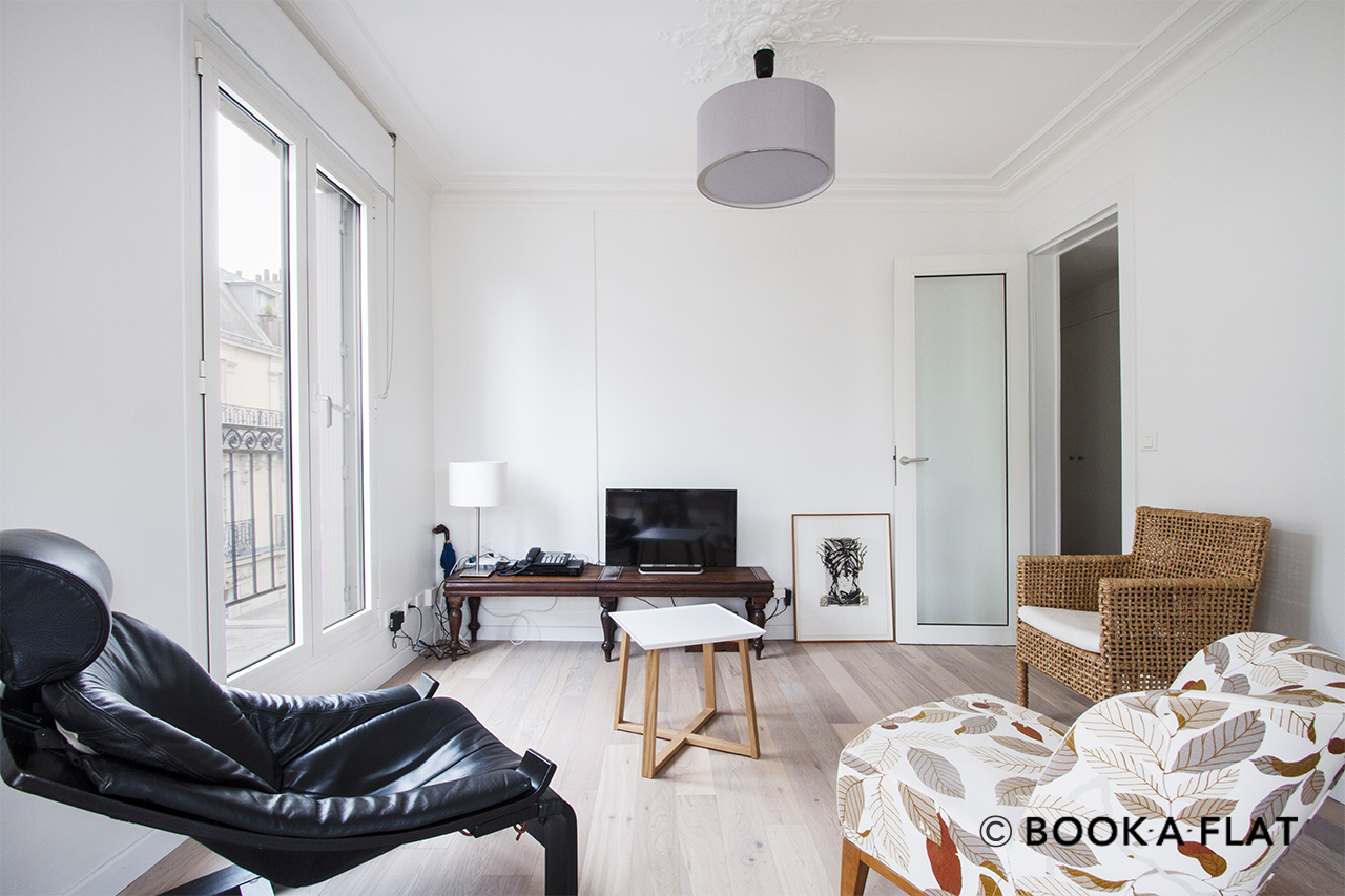 Apartment Paris Avenue de Villiers 4