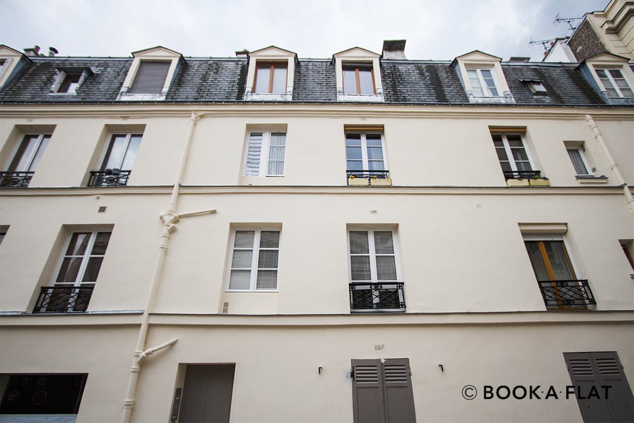 Apartment Paris Rue Rollin 11