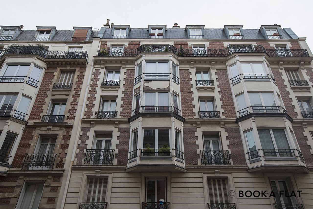 Appartement Paris Rue Ernest Renan 12