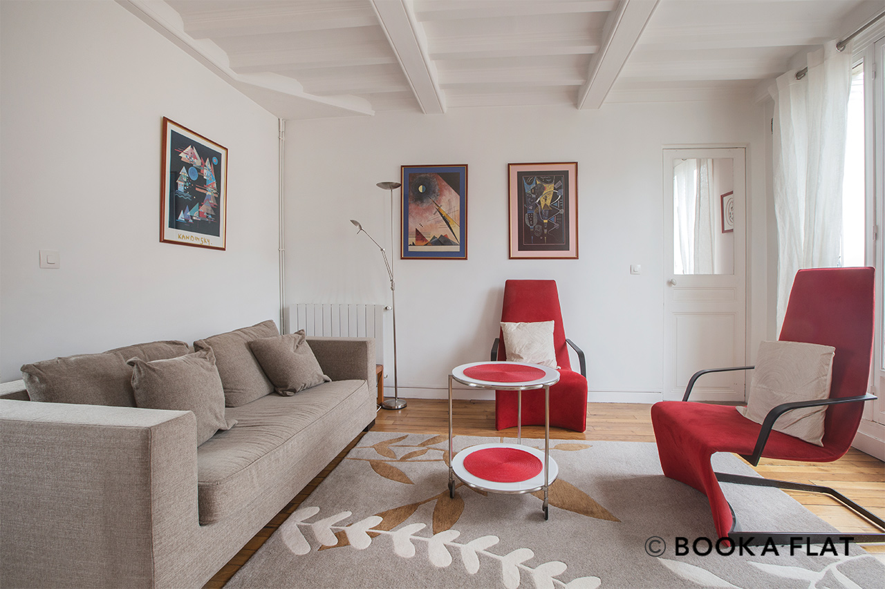 Appartement Paris Rue Ernest Renan 2
