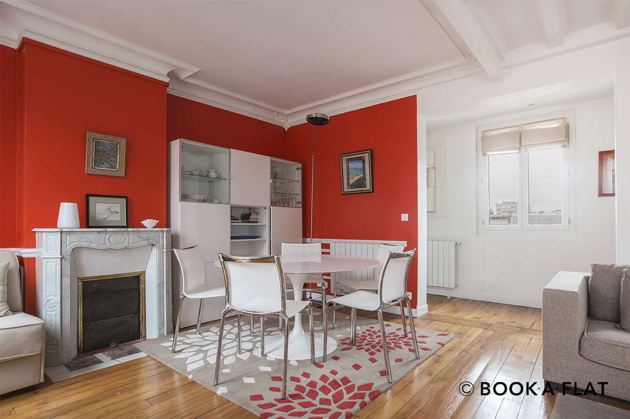 Appartement Paris Rue Ernest Renan 3