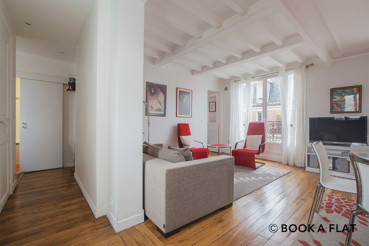 Appartement Paris Rue Ernest Renan 4