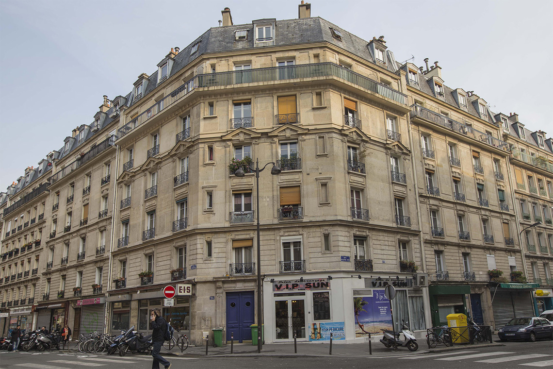 Квартира Paris Rue Simart 14