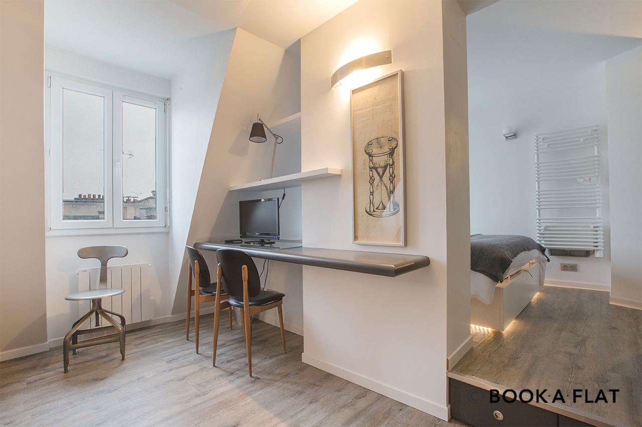 Appartement Paris Passage Sainte Avoie 3