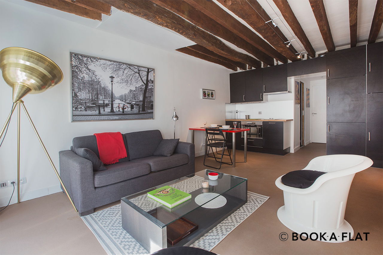 Furnished apartment for rent Paris Rue des Anglais
