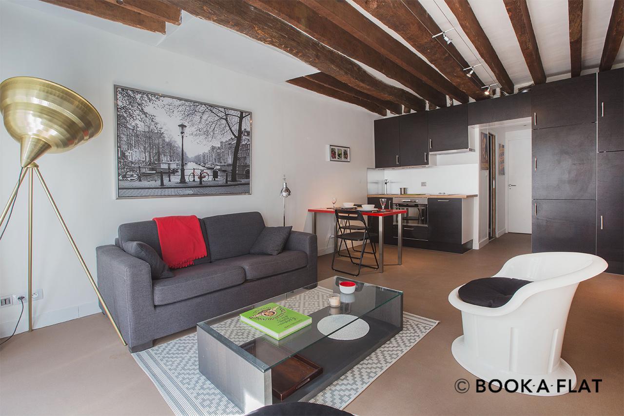 Appartement meubl 5 me arrondissement de paris 75005 for Meuble anglais paris