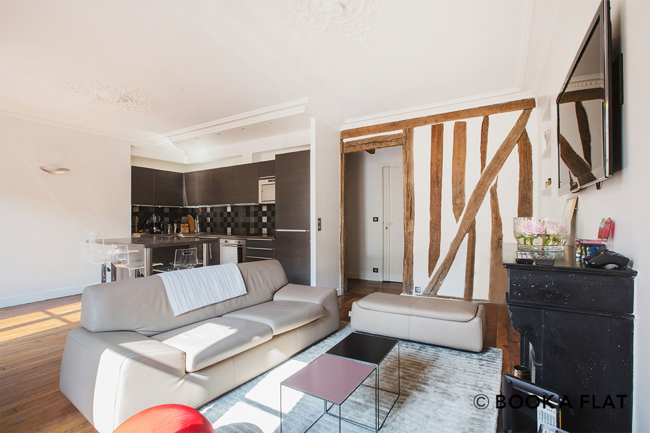 Paris Rue du Foin Apartment for rent
