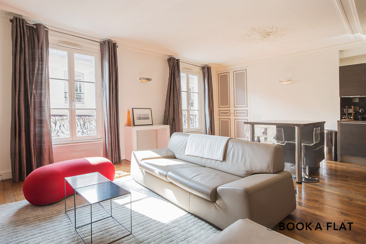 Furnished apartment for rent Paris Rue du Foin