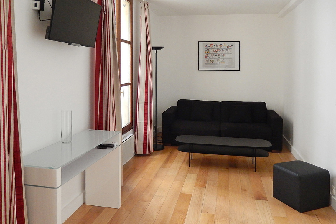 Furnished apartment for rent Paris Quai d'Anjou