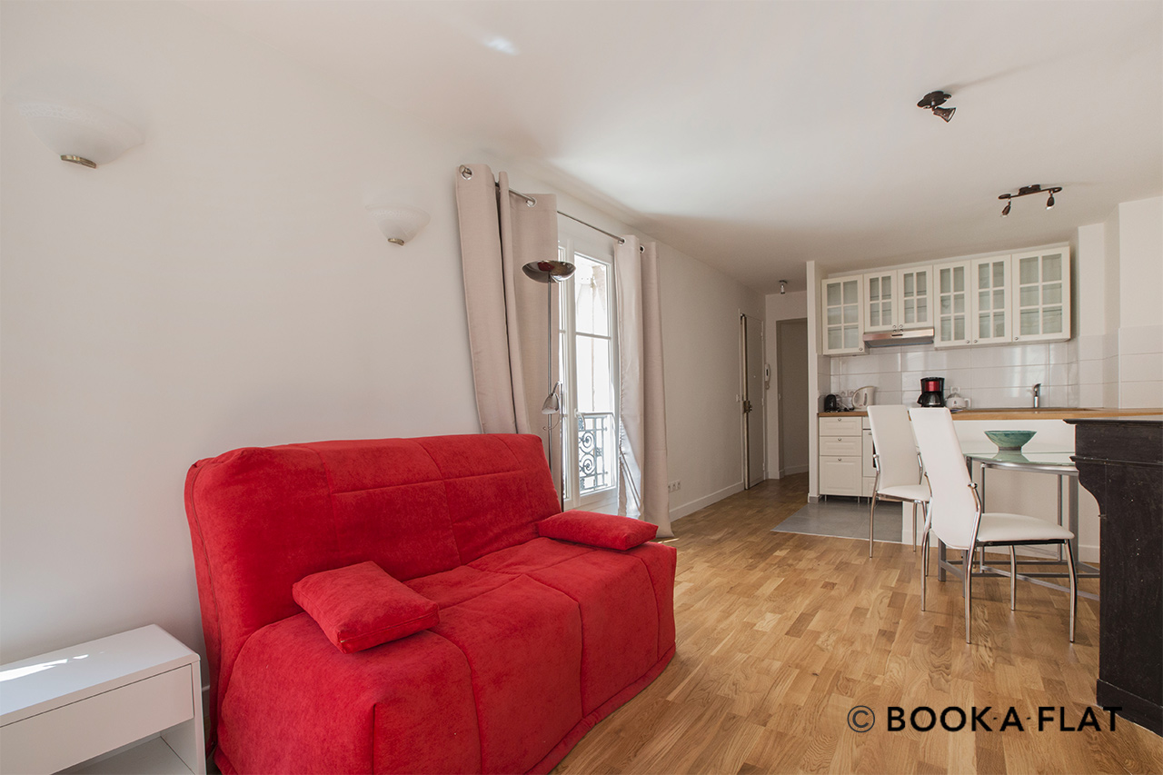 Furnished apartment for rent Paris Rue de Richelieu