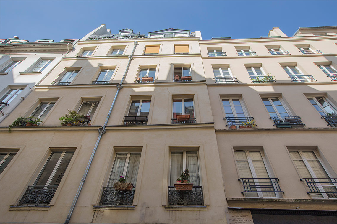 Квартира Paris Rue Chapon 5