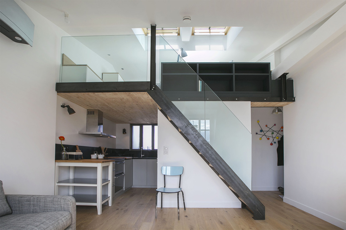 Appartement Paris Rue Lacépède 4