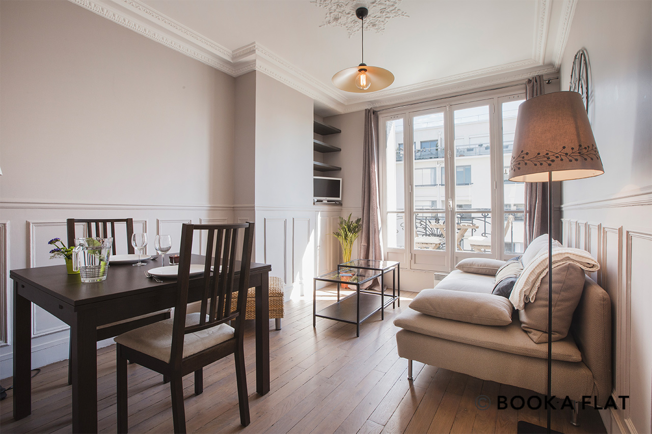 Paris Avenue Simon Bolivar Apartment for rent