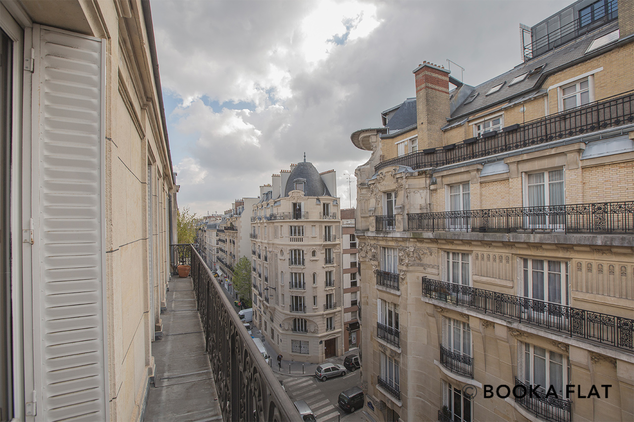Квартира Paris Rue Pierre Demours 19