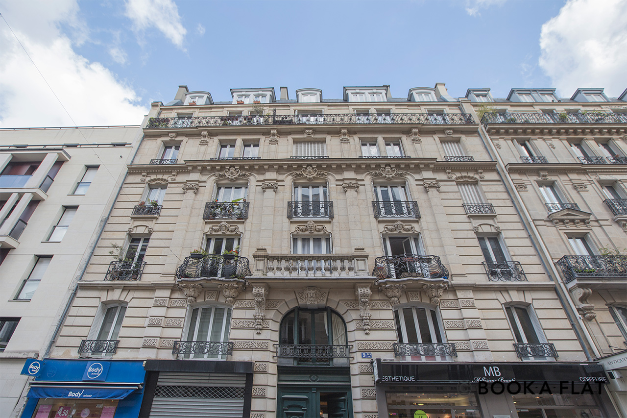 Квартира Paris Rue Pierre Demours 20