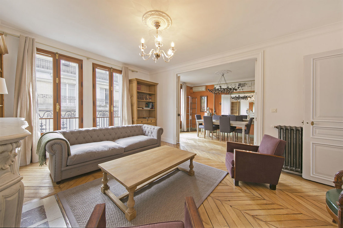 Furnished apartment for rent Paris Rue Pierre Demours