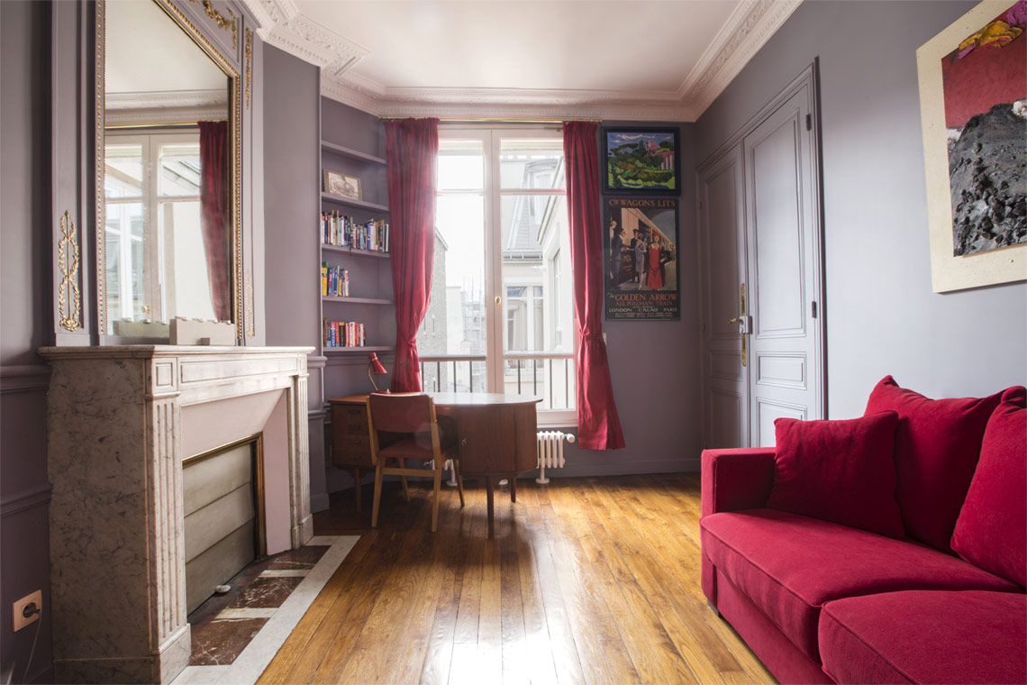 Appartement Paris Rue Saint Denis 12