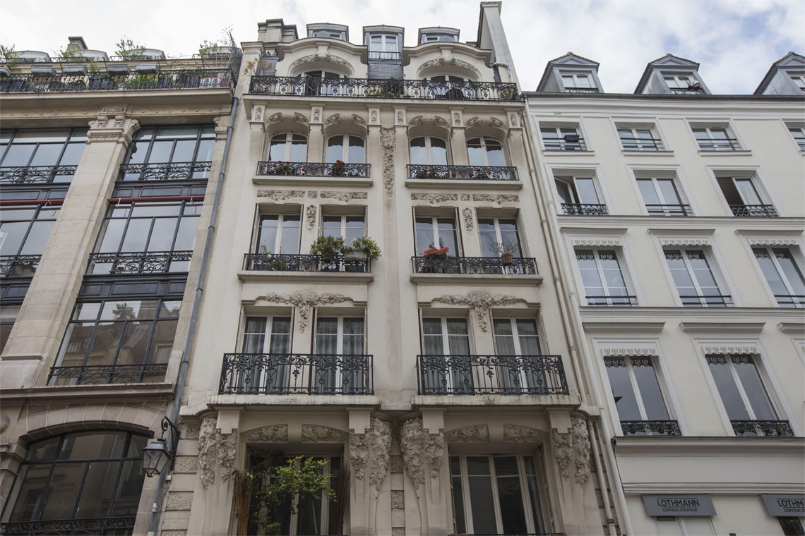 Appartement Paris Rue Saint Denis 17