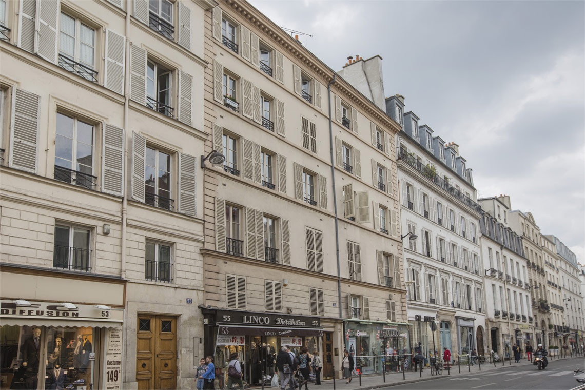 Appartement Paris Rue de Turenne 12