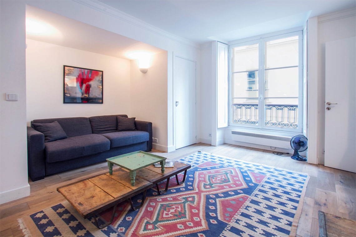 Furnished apartment for rent Paris Rue Hautefeuille